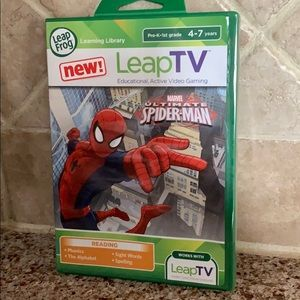Other - Leap Frog Leap TV Spider-Man Educational Game